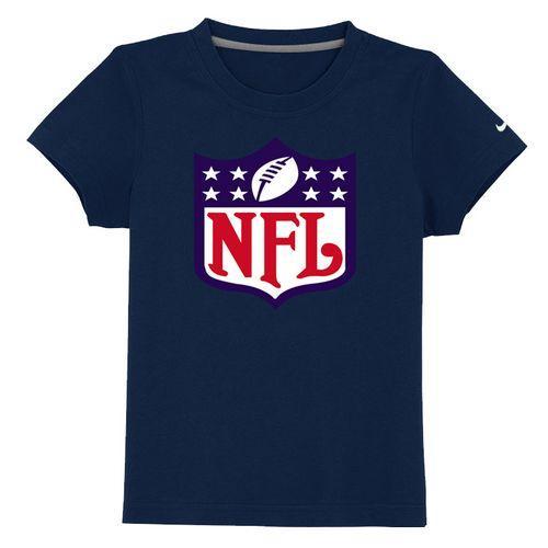 NFL Logo Youth T-Shirt Dark Blue