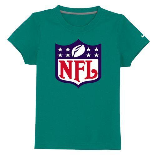 NFL Logo Youth T-Shirt Green