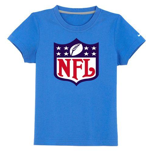 NFL Logo Youth T-Shirt Light Blue