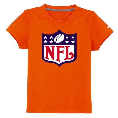 NFL Logo Youth T-Shirt Orange