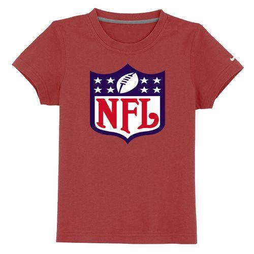 NFL Logo Youth T-Shirt Red