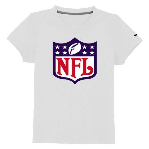 NFL Logo Youth T-Shirt White