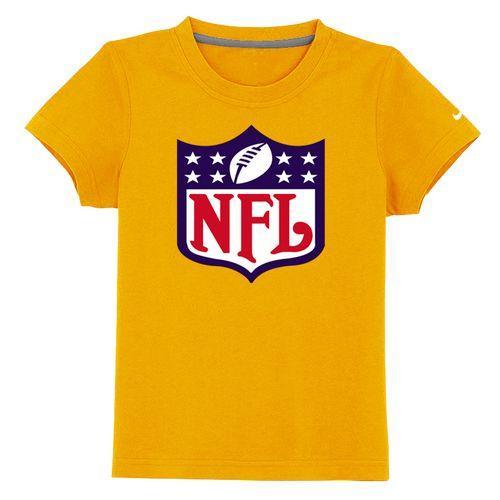 NFL Logo Youth T-Shirt Yellow