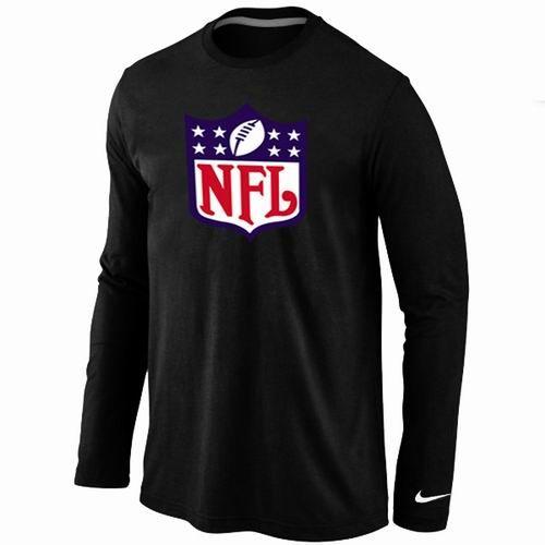 Nike NFL Logos Long Sleeve T-Shirt Black