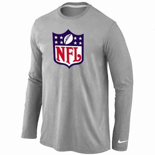 Nike NFL Logos Long Sleeve T-Shirt Grey