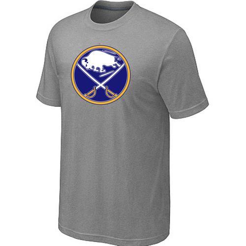 Buffalo Sabres Big & Tall Logo Grey NHL T-Shirt