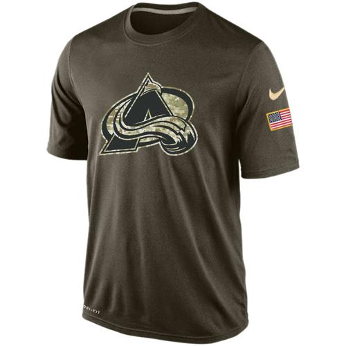 Men's Colorado Avalanche Salute To Service Nike Dri-FIT T-Shirt