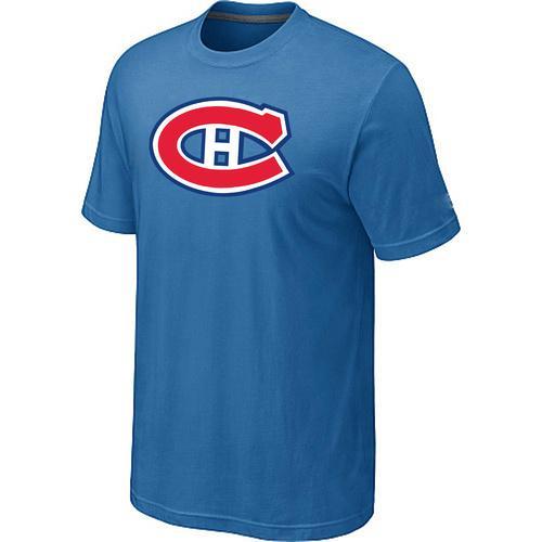 Montreal Canadiens Big & Tall Logo Indigo Blue NHL T-Shirt