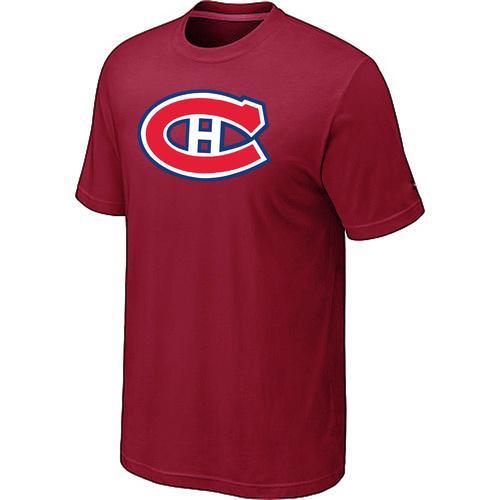 Montreal Canadiens Big & Tall Logo Red NHL T-Shirt