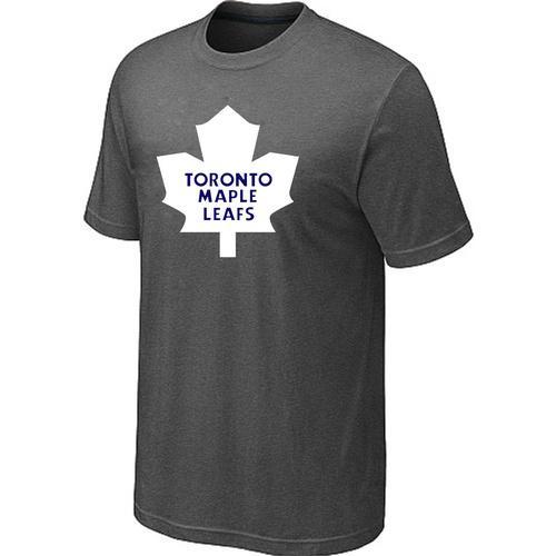 Toronto Maple Leafs Big & Tall Logo Crow Grey NHL T-Shirt