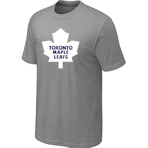 Toronto Maple Leafs Big & Tall Logo Grey NHL T-Shirt
