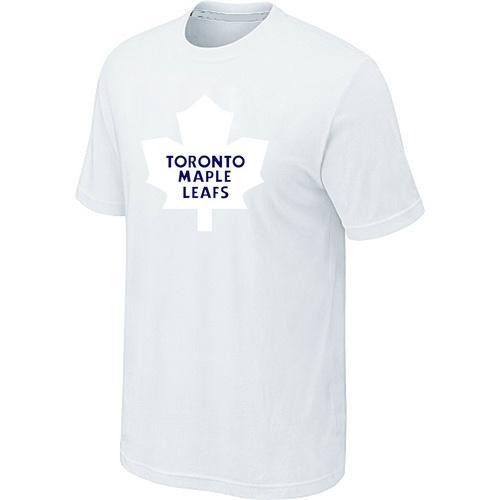 Toronto Maple Leafs Big & Tall Logo White NHL T-Shirt