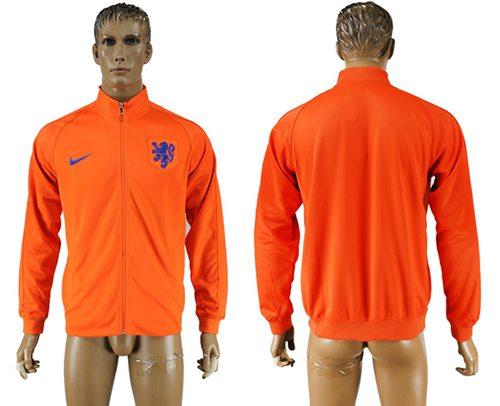 Holland Soccer Jackets Orange