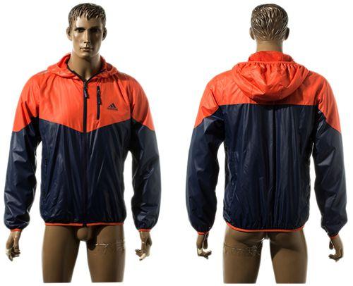 Addidas Soccer Jackets Red/Dark Blue