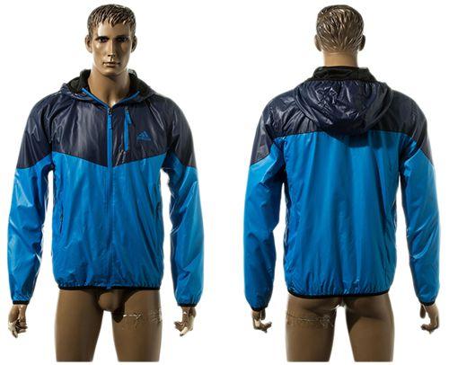 Addidas Soccer Jackets Blue
