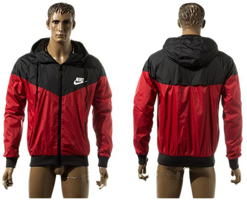 Nike Soccer Jackets Red/Black