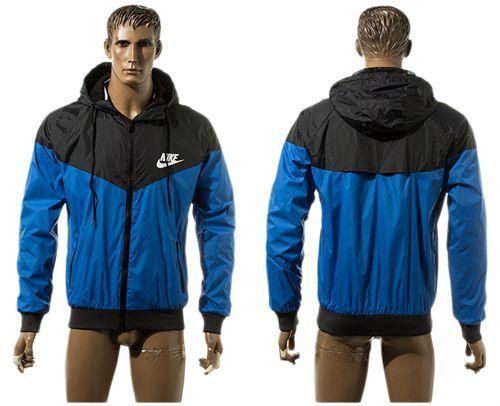 Nike Soccer Jackets Blue/Black