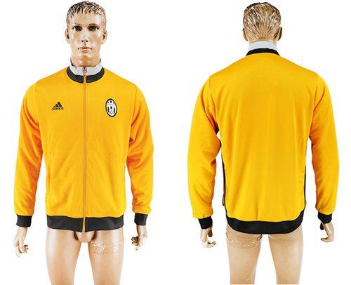 Juventus Soccer Jackets Yellow