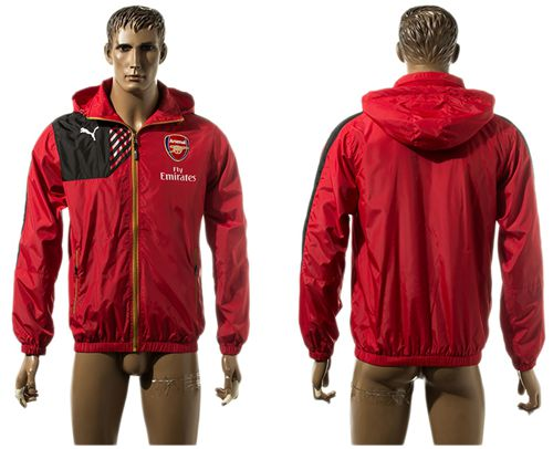 Arsenal Soccer Jackets Red