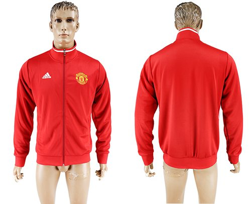 Manchester United Soccer Jackets Red
