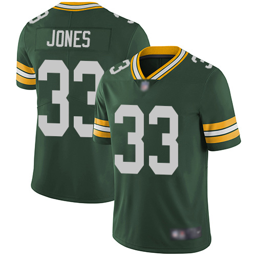 Nike Packers #33 Aaron Jones Green Team Color Youth Stitched NFL Vapor Untouchable Limited Jersey