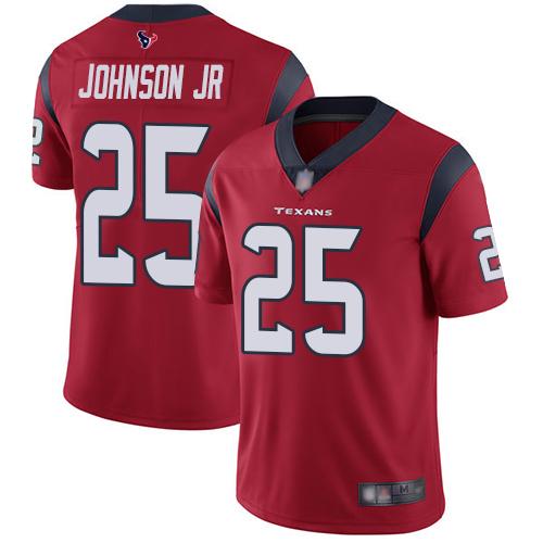 Nike Texans #25 Duke Johnson Jr Red Alternate Youth Stitched NFL Vapor Untouchable Limited Jersey