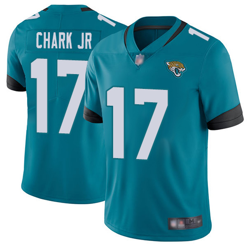 Nike Jaguars #17 DJ Chark Jr Teal Green Alternate Youth Stitched NFL Vapor Untouchable Limited Jersey