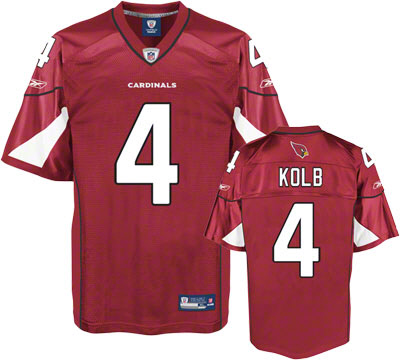 Cardinals #4 Kevin Kolb Red Stitched Youth NFL Jersey