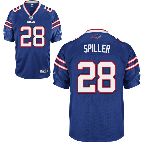 Bills #28 C.J. Spiller Baby Blue 2011 New Style Stitched Youth NFL Jersey