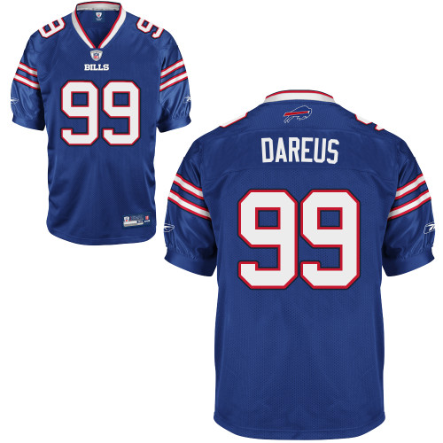 Bills #99 Marcell Dareus Baby Blue 2011 New Style Stitched Youth NFL Jersey