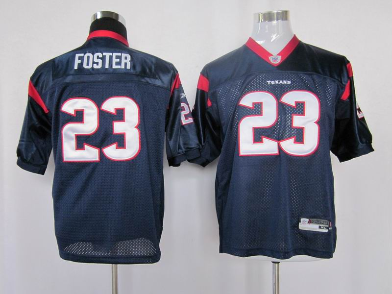 Texans #23 Arian Foster Blue Stitched Youth NFL Jersey