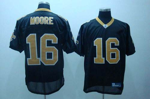 Saints #16 Lance Moore Black Stitched Youth NFL Jersey