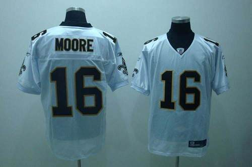 Saints #16 Lance Moore White Stitched Youth NFL Jersey