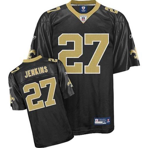 Saints #27 Malcolm Jenkins Black Stitched Youth NFL Jersey