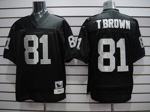 Raiders #81 Tim Brown Black Stitched Youth NFL Jersey