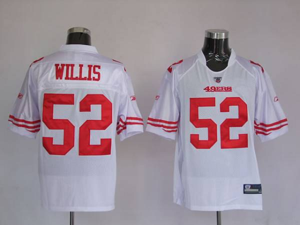49ers #52 Patrick Willis White Stitched Youth NFL Jersey