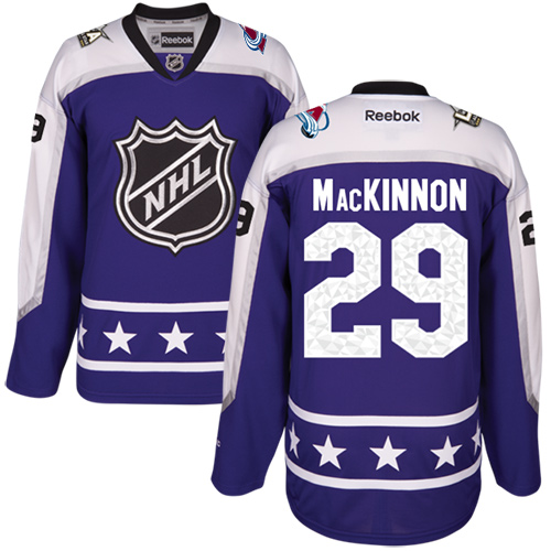 Avalanche #29 Nathan MacKinnon Purple 2017 All-Star Central Division Stitched Youth NHL Jersey